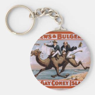 Mathews & Bulger, 'At Gay Coney Island' Vintage Th Keychains