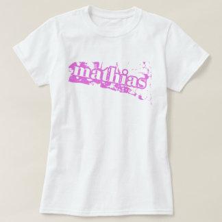 Mathias Clothing Pink Splash Tee Shirt