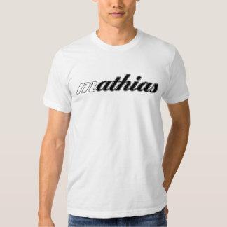 Mathias Tee, White Cal! - Customized T-shirt