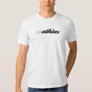 Mathias Tee, White Cal! T-shirt