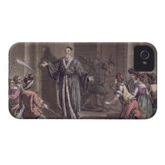 Mathieu Mole (1584-1656) harangued by the people, iPhone 4 Case