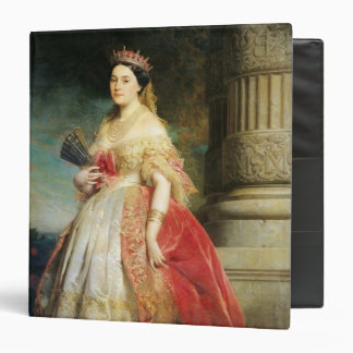 Mathilde Laetitia Wilhelmine Bonaparte  1861 Vinyl Binder