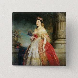 Mathilde Laetitia Wilhelmine Bonaparte  1861 Pinback Button