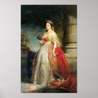 Mathilde Laetitia Wilhelmine Bonaparte  1861 Poster