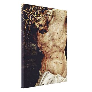 Mathis Gothart - Crucifixion of Christ Detail Stretched Canvas Print