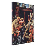 Mathis Gothart - Fall under the Cross of Christ Gallery Wrapped Canvas
