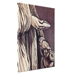 Mathis Gothart - St Elizabeth of Thuringia Gallery Wrapped Canvas
