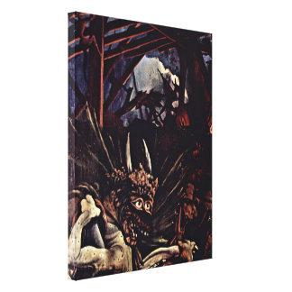 Mathis Gothart - The temptation of St Anthony Canvas Print