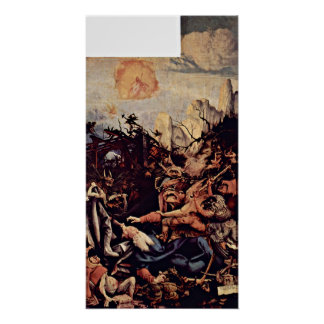 Mathis Gothart - The Temptation of St Anthony Poster