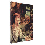 Mathis Gothart - Visit of St Anthony Detail Stretched Canvas Print