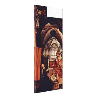 Mathis Grunewald Gothart - Annunciation Stretched Canvas Prints