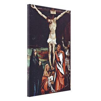 Mathis Grunewald Gothart - Christ on the cross Canvas Print