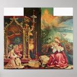 Mathis Grunewald Gothart - el nacimiento de Cristo Impresiones