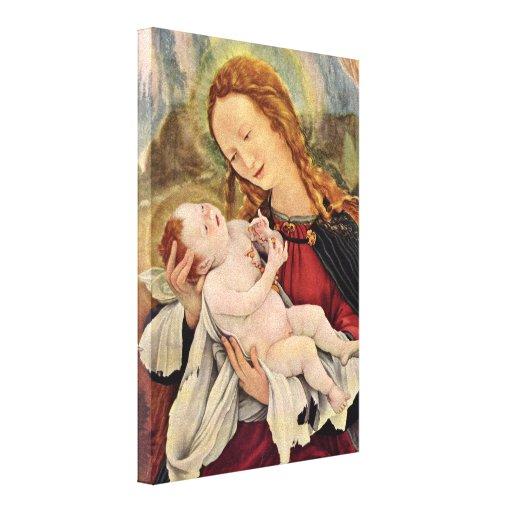 Mathis Grunewald Gothart - Madonna Canvas Print