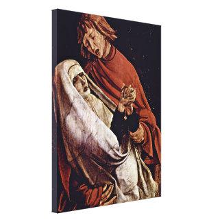 Mathis Grunewald Gothart - Mary and St John Canvas Print