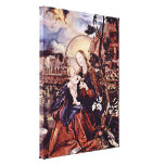 Mathis Grunewald Gothart - Mary with child Gallery Wrapped Canvas