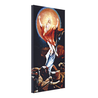 Mathis Grunewald Gothart - Resurrection Canvas Print