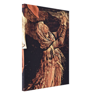 Mathis Grunewald Gothart - St Mary Magdalene Canvas Print