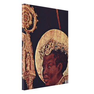 Mathis Grunewald Gothart - St Mauritius Canvas Print