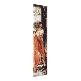 Mathis Grunewald Gothart - St Sebastian Canvas Print