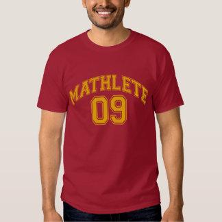 MATHLETE 09 - camiseta Playeras