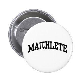Mathlete 2 Inch Round Button