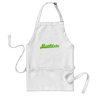 Mathlete Adult Apron