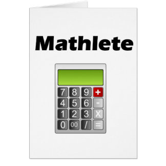 Mathlete Cards