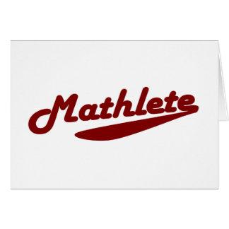Mathlete Card