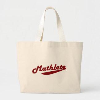 Mathlete Large Tote Bag
