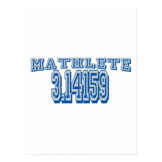 Mathlete Pi Post Card