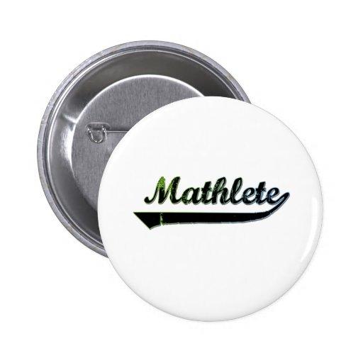 Mathlete Pin