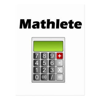 Mathlete Post Cards