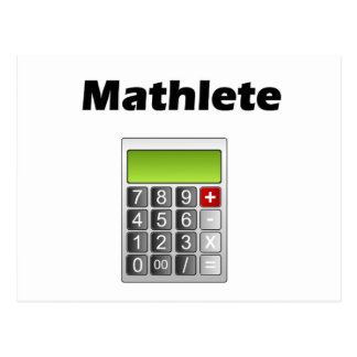 Mathlete Postcard