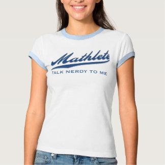 mathlete, TALK NERDY TO ME - Customized T-shirt