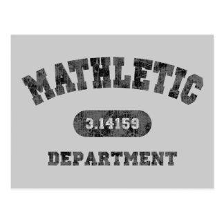 Mathletic Department Post Cards