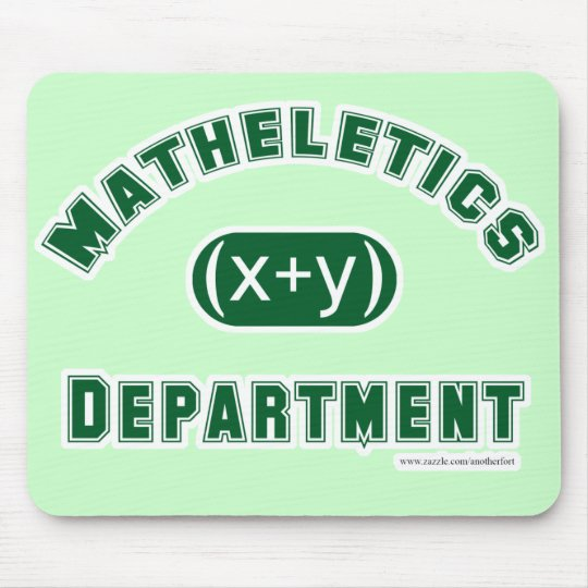 Mathletics Department Mousepad