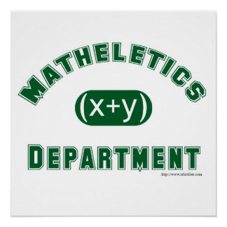 Mathletics Department Poster