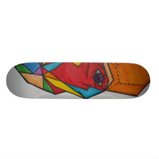 Mathmatical Faces Skateboard Deck