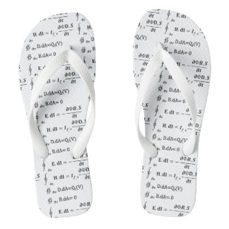 Maths Calculus Equation Flip Flops