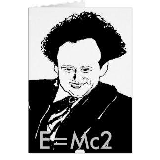 Maths; E=Mc2 Card