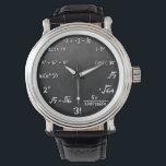 """Maths Equation Watch For Mathematics Nerds<br><div class=""""desc"""">A very cool wrist watch for Math nerds.</div>"""