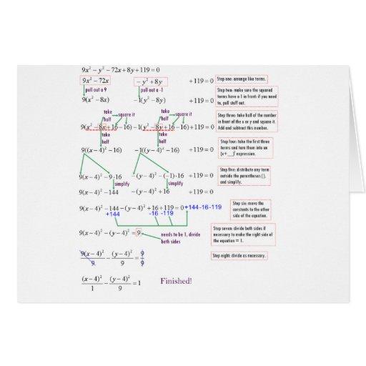 Maths Greeting Card