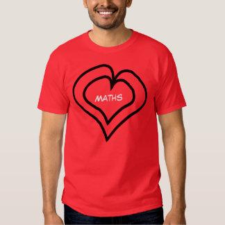 Maths is in my heart T-Shirt