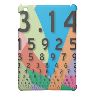 Maths: the colorful mathematical constant of Pi iPad Mini Cases