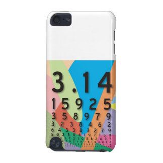 Maths: the colorful mathematical constant of Pi iPod Touch (5th Generation) Cover