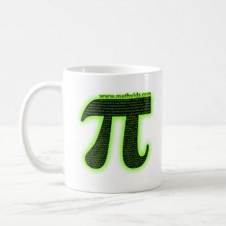 MathVids.com taught me how to count to Pi Classic White Coffee Mug