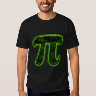 MathVids taught me how to count to pi T-shirt