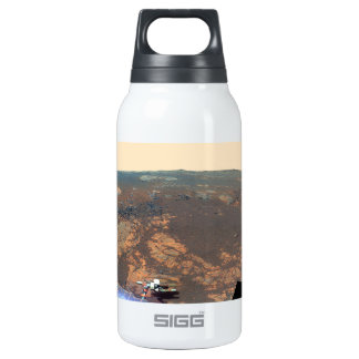 Matijevic Hill Panorama From Mars Rover Insulated Water Bottle