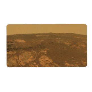 Matijevic Hill Panorama from Mars Rover Label